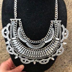 Bauble bar bib necklace